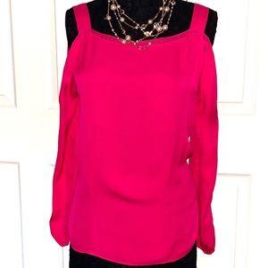 Eiie Tahari beautiful pink blouse